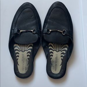 Musse & Cloud Leather Slides